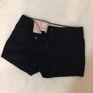 J. Crew Black Chino Shorts - Size 4